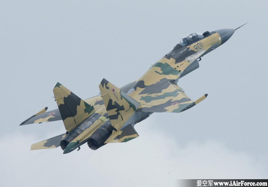 Su-35 爬升