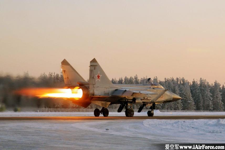 米格-31 战斗机截击机