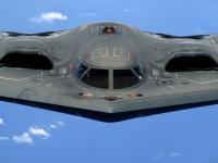 B-2 隐形轰炸机 空中飞行