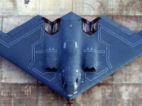 B-2 隐形轰炸机 俯视图片