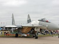 苏-35 满载武器地面展示