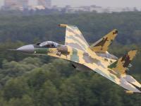 Su-35 空中飞行
