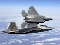 F-22 双机飞行 图片