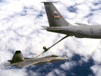 F-22 空中加油