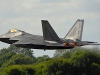 F-22 低空突防飞行