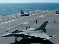 阵风M (rafale M) 航母停放