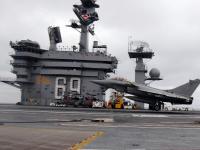阵风M (rafale M) 美国航母起飞