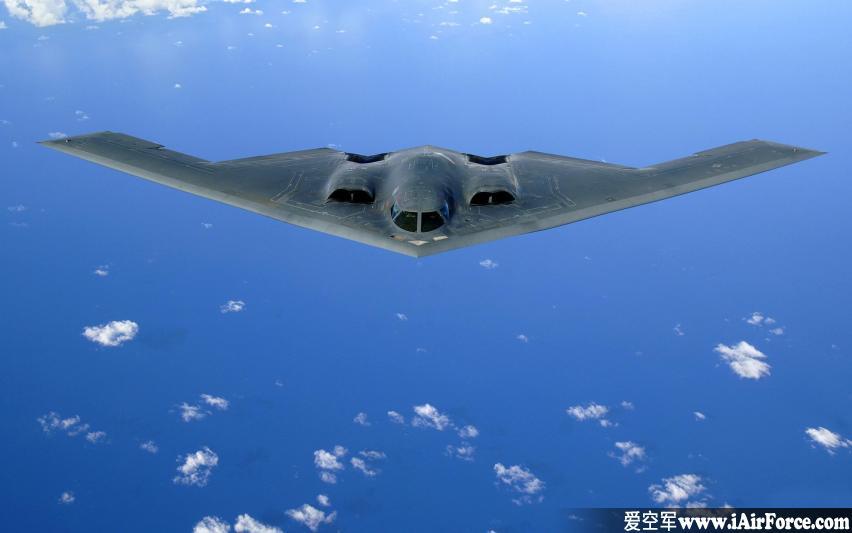 B-2 隐形轰炸机 (幽灵 Spirit)