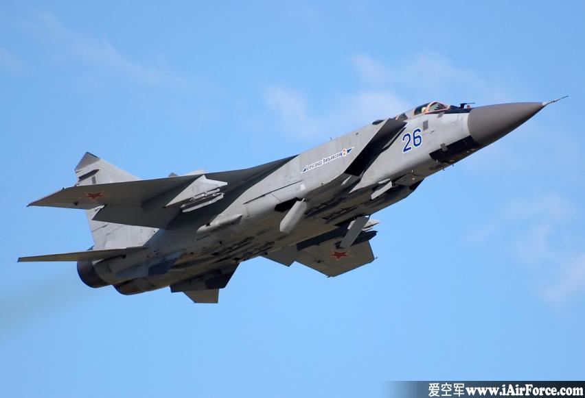 米格-31 捕狐犬 战斗机(Mig-31 Foxhound)