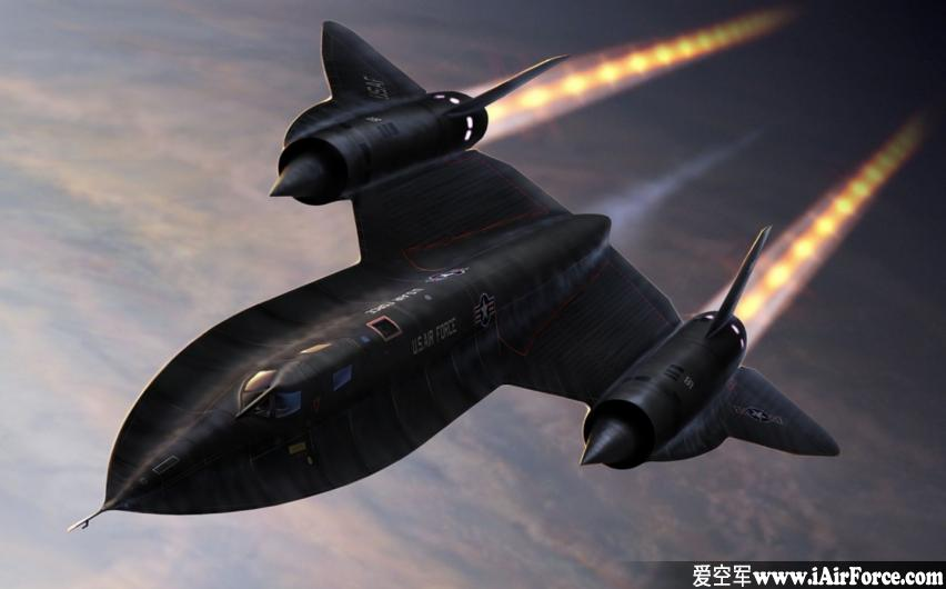 SR-71黑鸟战略侦察机 (SR-71 Blackbird)