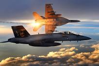 F-18E/F超级大黄蜂战斗机 F-18E